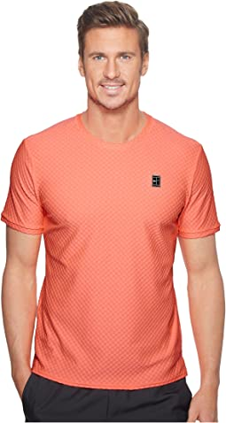 Nike - Court Short Sleeve Tennis Top
