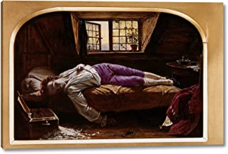 The Death of Chatterton Reduction by Henry Wallis - 7