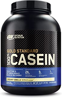 Optimum Nutrition Gold Standard 100% Micellar Casein Protein Powder, Slow Digesting, Helps Keep You Full, Overnight Muscle...