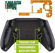 eXtremeRate Lofty Programable Remap&Gatillo de Parada Kit para Mando Xbox One S X(Mod Chip,Carcasa Trasera,Agarre,Botones Traseros,Trigger Lock para Control de Xbox One S X-Modelo 1708)-Negro