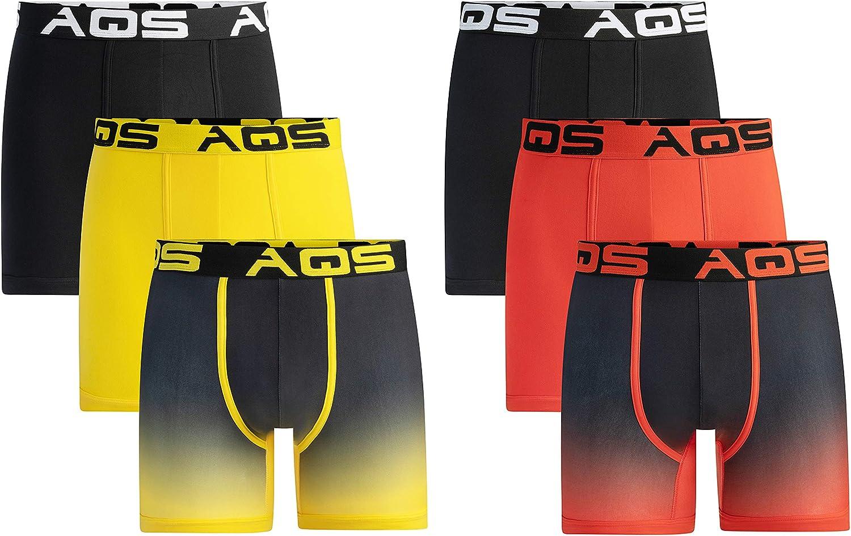 aqs Men's Ombre Boxer Briefs