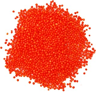 Dress My Cupcake DMC27182 Decorating Nonpareils Sprinkles for Cakes, 3.8-Ounce, Orange