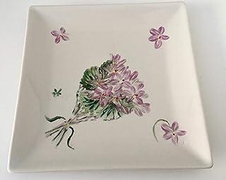 Amazon.es: platos cuadrados de porcelana