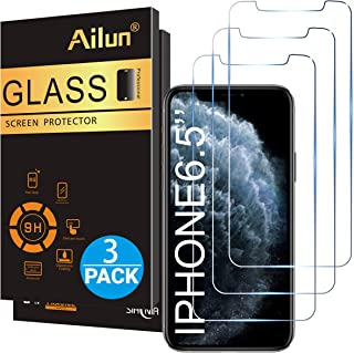Ailun for Apple iPhone 11 Pro Max/iPhone Xs Max Screen Protector 3 Pack 6.5 Inch..
