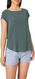 Only Women's ONLVIC S/S SOLID TOP NOOS WVN Blouse