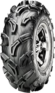 Maxxis MU01 Zilla Tire - Front - 23x8x12 , Position: Front, Tire Size: 23x8x12, Rim Size: 12, Tire Ply: 6, Tire Type: ATV/UTV, Tire Construction: Bias, Tire Application: Mud/Snow TM00450100