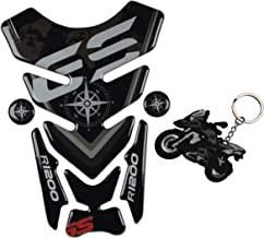 REVSOSTAR Motorcycle Reflective Sticker Gas Tank Protector Pad Tank Pad for R1200GS r1200gs GS Adventure ADV GS-Adv(Tankpad with Keychain)