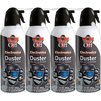 Dust-Off Compressed Gas Duster, Pack of 8