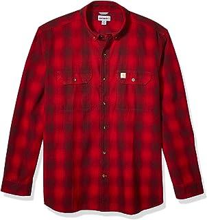 Carhartt Men`s Fort Plaid Long Sleeve Shirt