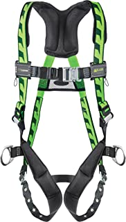 Miller Titan by Honeywell AC-TB-BDP/UGN AirCore Full Body Harness, Large/X-Large, Green