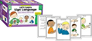Carson Dellosa Key Education Let's Learn Sign Language Learning Cards (845046)