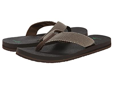 Sanuk Yogi 4 (Brown Weave) Men