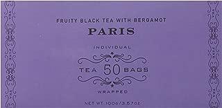 Harney & Sons Fruity Black Tea with Bergamot, Paris, 50 Tea Bags