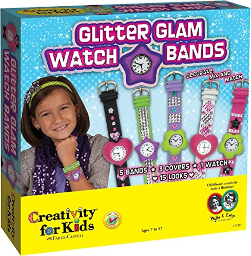 Glitter Glam Watch Bands Kit-