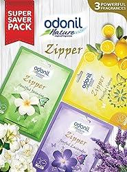 Odonil Bathroom Air Freshener Zipper Mix -10 g (Pack of 3)