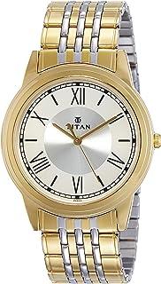 Titan Analog Beige Dial Men's Watch-NM1735BM01 / NL1735BM01