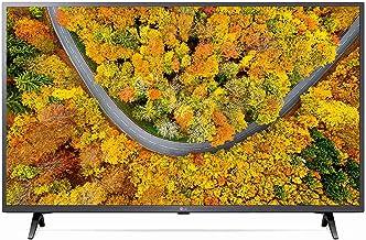 LG 109 2 cm 43 inches 4K Ultra HD Smart LED TV 43UP7500PTZ Rocky Black 2021 Model