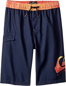 Lava Logo Volley Shorts (Big Kids)