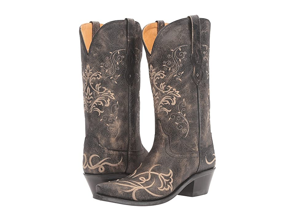 Old West Boots LF1587 (Vintage Charcoal) Cowboy Boots