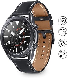 Samsung Galaxy Watch 3 Smartwatch Bluetooth, behuizing 45 mm, staal, lederen band, satuurmeter, valherkenning, sportbewaki...