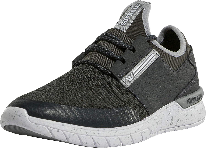 Supra Men Sneakers Flower Run Grey 42