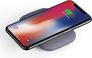 Fonesalesman - QiStone + den helt trådlösa bärbara powerbanken med 4000 mAh | Kompatibel med iPhone 11, 11 Pro, X, Samsung...