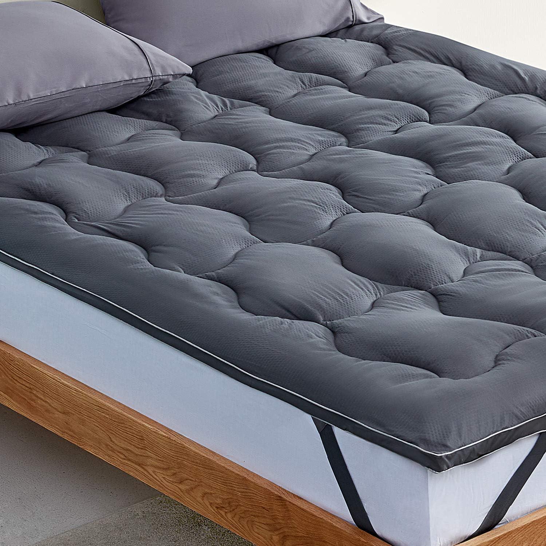 SLEEP ZONE Mattress Topper Cover Fluffy Ultra New arrival Soft Cooling Optim Sacramento Mall
