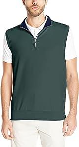 Fairway & Greene Men's Caves Quarter Zip Tech Vest