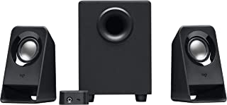 Logitech Multimedia 2.1 Speakers Z213 for PC and Mobile Devices