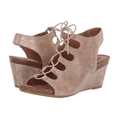 Sofft Maize (Anthracite Distressed Foil Suede) Women