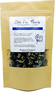 GOOD ACTIVE Dried Blue Butterfly Pea Flower Clitoria ternatea Herbs Herbal Healthy Tea Drink Recipes Food Coloring Antioxi...