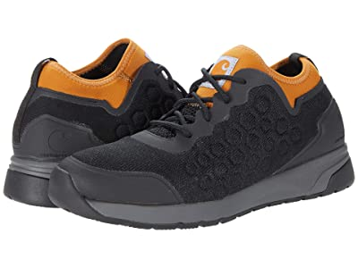 Carhartt Force(r) Non-Safety Toe SD Work Sneaker (Black Mesh/Gold Synthetic) Men