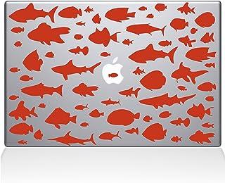 "The Decal Guru Go Against the Flow Vinyl Sticker, 13"" Macbook Pro (2015 & older) 13"" Macbook Pro (2015 & older) orange 014..."