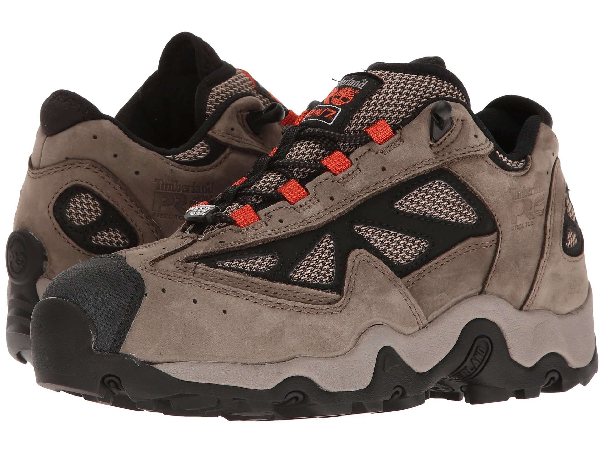 Timberland Pro Gorge Mid Esd Steel Toe At Zappos Com