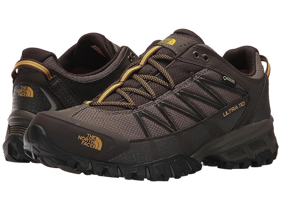 The North Face Ultra 110 GTX(r) (Weimaraner Brown/Leopard Yellow) Men