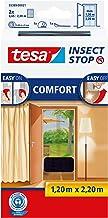 tesa Insect Stop Comfort Vliegenhor - Insectenhor voor deuren - Maak van jouw deur een hordeur met deze muggenhor - Antrac...