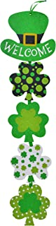 Glittery St. Patrick's Day Themed Hanging Welcome Sign