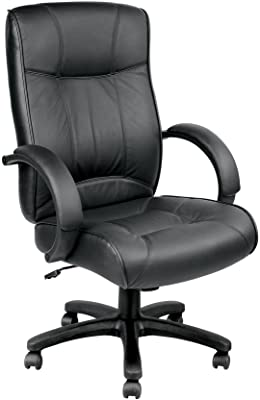 Eurotech Seating Odyssey Leather Chair, Black