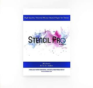 Stencil Pro Tattoo Transfer Paper   50 Sheets 8.5