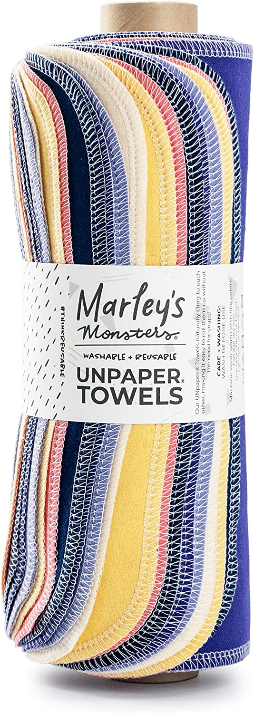 Marley's Monsters Reusable Ranking TOP8 UNpaper Towel in Eugen New product! New type Roll Handmade