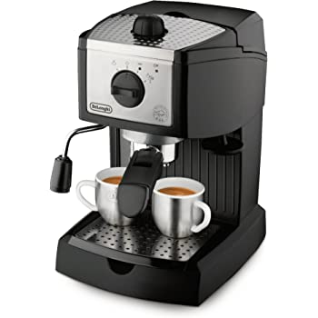 De'Longhi 15 bar Pump Espresso and Cappuccino Maker, Black