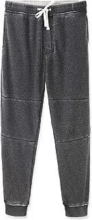 Men's Casual Soft Pockets Fleece Jogger Sweatpants Active Jersey Pants
