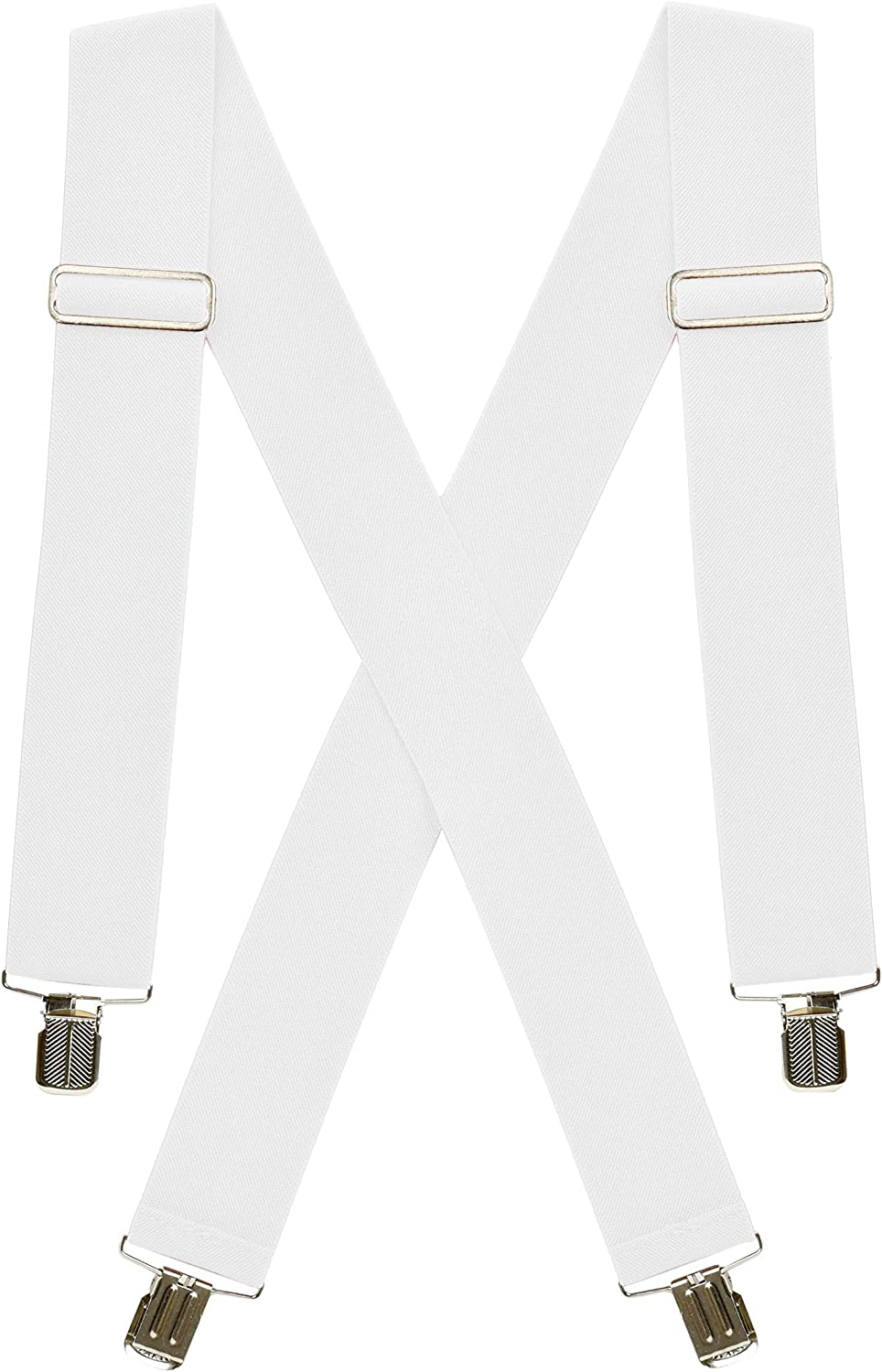 """Hold'Em Max 62% National uniform free shipping OFF Suspenders for men Heavy utility Duty 2"""" Clips"""