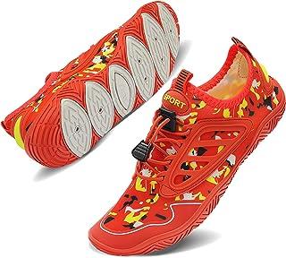 TIAMOU أحذية السباحة الشاطئية النساء أحذية المياه للرجال سريعة الجفاف جوارب مائية أحذية حمام السباحة لركوب الأمواج اليوغا ...