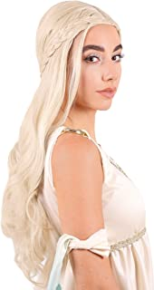 blonde ponytail wig halloween