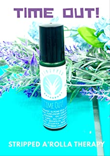 Time Out! by Stripped Bath & Body - 10ml A'Rolla Therapy Roll On | Stress Relief Essential Oil | Anxiety Relief | Calms | Relaxation | Stocking Stuffer Idea