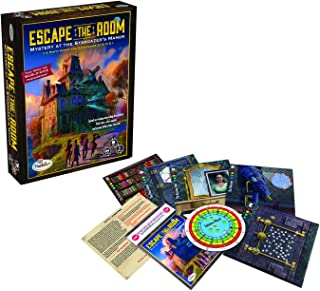 ThinkFun Escape The Room: Mystery at The Stargazer's Manor Game,Family Games