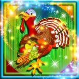 How to use Thanksgiving Coloring Book: ╗ Create your own drawing or choose one from the choose picture page ╗ To cover large areas of illustration with paint tap on the bucket icon ╗ Select chalk to draw lines and use the eraser if you make a mistake...