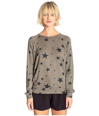 P.J. Salvage Weekend Warrior Sweatshirt (Olive) Women
