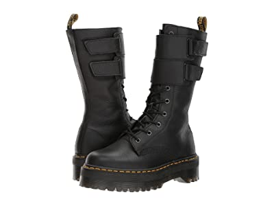 Dr. Martens Jagger 10-Eye Boot (Black Aunt Sally) Women